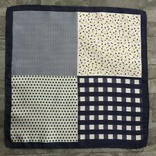 Hugo Boss Patchwork Print silk pocket square