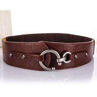 Leather Vintage Belt Genuine Leather Belt Cowhide Female Belts Wide Belts Womens
