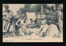 Africa ALGERIE Algeria Marche Market Kabyle Tribe Ethnic c1900/10s? PPC