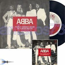 "ABBA ""TAKE A CHANCE ON ME"" RARE 45RPM MADE IN ITALY - MINT"