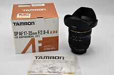 Tamron SP A05 17-35mm F/2.8-4.0 LD IF Di AF Aspherical Lens FX Nikon Mount