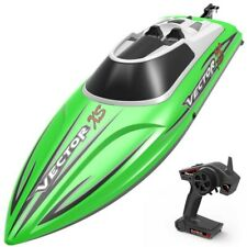 Vector Xs Rc Race Boat 2.4ghz Water Proof Rc Boat 19 Mph ! -Rtr- Green