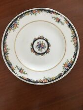 Wedgwood Osborne R4699 White Black Floral Bread Butter Plate Plates 6�