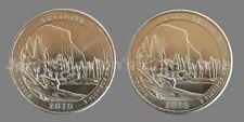 2010 P&D Yosemite National Park Quarters 2-Coin Set - Choice BU