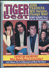 Tiger Beat Sept. 1976 Robby Benson John Travolta Bay City Rollers     MBX2