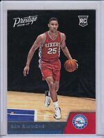 Ben Simmons 2016-17 Panini Prestige RC Rookie 76ers Rookie Card