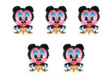Ballons de fête multicolores sans marque mickey mouse pour la maison