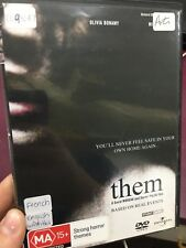 Them ex-rental region 4 DVD (2006 French horror / thriller movie) ** RARE **