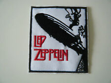 LED ZEPPELIN PATCH Embroidered Iron On Classic Rock Heavy Metal Band Badge NEW