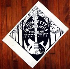 Tom Petty and The Heartbreakers original pen & ink production artwork 1991
