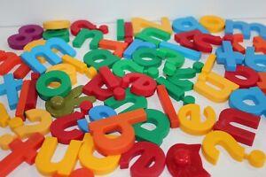 Alphabet Numbers Magnetic Lot Refrigerator Crafts School