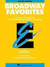 Essential Elements Broadway Favorites: Eb Baritone Saxophone by Michael Sweeney