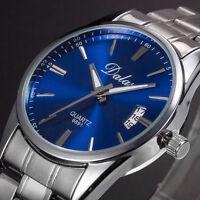 Mens Watches Quartz Stainless Steel Analog Sports Watches New Men Wrist Watch