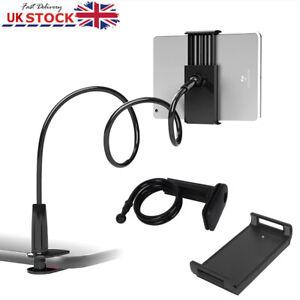 360° Flexible Lazy Stand Bed Bracket Mount Desk Holder Mount For ipad Tablet UK