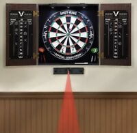 Viper LED LASER TOE THROW LINE Dart Board Darts soft steel tip BATTERY POWERED