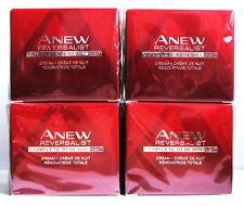 4 x AVON Anew Reversalist Complete Renewal Night Cream 50ml-1.7oz SET !!!