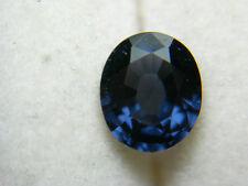 rare Fine Blue Spinel gemstone UNTREATED gem NATURAL oval Sri Lanka 0.94ct Sb01