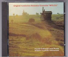 "BALALAIKA ENSEMBLE ""WOLGA"" - POPULAR FOLKSONGS FROM RUSSIA CD ARC EUCD 1126"