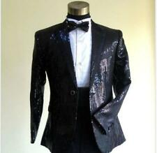 HOT Mens Suit&Pants Gangnam Bling Tuxedo Sequins Psy Jacket Coat Clothing A556