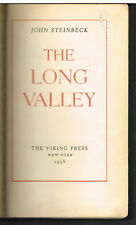 The Long Valley by John Steinbeck 1938 1st Ed. Vintage Book!  $