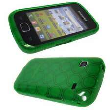 caseroxx TPU-Case voor Samsung S5660 Gio in green gemaakt van TPU