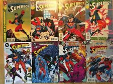 DC SUPERBOY Issues 1, 4-5, 11, 21-22 and WORLDS COLLIDE: SUPERBOY Issues 6 and 7