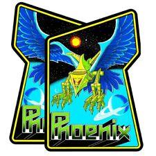 Phoenix Arcade Side art decal set 2 Pc Highest Quality