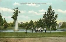 Florida, Fl, Jacksonville, Springfield Park 1909 Postcard