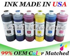 6 pints refill ink for HP 83 ink Designjet 5000 5500 HP 83 Ink Bottles for HP83