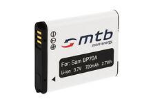Batterie Ea-bp70a pour Samsung Pl20 Pl21 Pl80 Pl81 Pl90 Pl91 Pl100