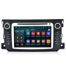 Autoradio Navigatore Dab+ Mirrorlink Android 7.1 Per Smart Fortwo Stereo 2 Din