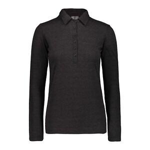 CMP Cima Funzione Shirt Donna Polo Nero Traspirante Riscaldamento