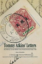 History of the BRITISH ARMY POSTAL SERVICE from 1795: 'TOMMY ATKINS' LETTERS'