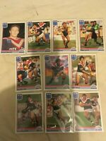 1992 REGINA NSW Rugby League Eastern Suburbs ( 10 Cards ) Full Base Team Set.