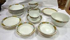 Antique Alfred Meakin 28 piece England fine china/Ceylon 1907