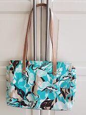 Original Aigner Shopper Handtasche Sommer Türkis Tasche Bag