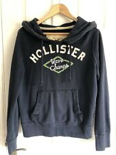Mens Hollister Navy Hoodie Size Small