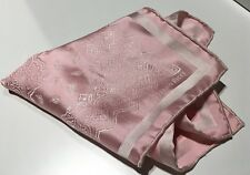 STEFANO RICCI Pink Woven-Pattern Pocket Square - 100% Silk - Made in Italy