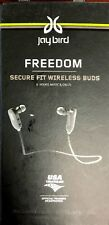 Lot of 2: JayBird Freedom Wireless Bluetooth Earbuds Secure Fit Black- For parts