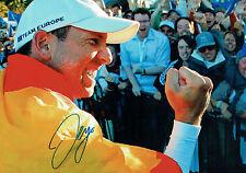 Sergio GARCIA SIGNED Autograph 18x12 Photo AFTAL COA Ryder Cup WINNER GOLF