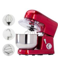 Electric Stand Mixer w/ 5 Quart Bowl 1200W Tilt-Head 6 Speed Countertop Kitchen