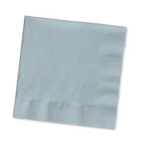 2-ply Paper Beverage Cocktail Napkins Bar Party Small - Solid Colors Disposable