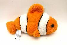 Clownfish Plush Stuffed Animal Fish Toy 4 inch New