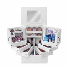 Lori Greiner Deluxe Cosmetic Organizer Box Stores more than 200 items