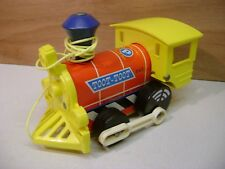Vintage Toot Toot Train - Fisher Price Pull Toy - Vintage 1960s-70s - 643