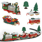 Musical Christmas Train and Carriages Christmas Tree Train Set with Light