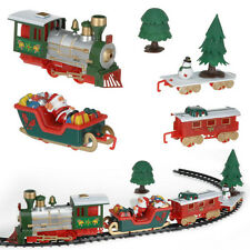 Musical Christmas Train and Carriages Christmas Tree Train Set With Box Kid Gift