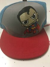 Mini Superman Six Flags Dc Comics Snapback Cap Hat