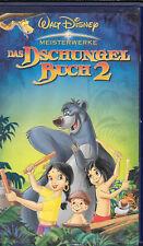Das Dschungelbuch 2 - Walt Disney Meisterwerke  - VHS (00196 )