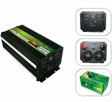 ups Inverter charger  LED display Power invertor DC to AC 12V to 220V  2000 Watt